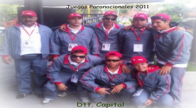Selección de Goalball del Distrito Capital - Paranacionales 2011