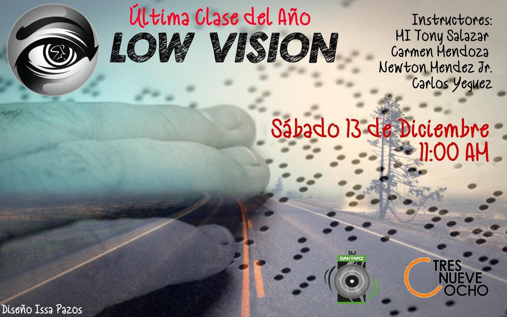 Afiche de la 18ª clase del Proyecto Low Vision