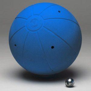 Balón de Goalball.