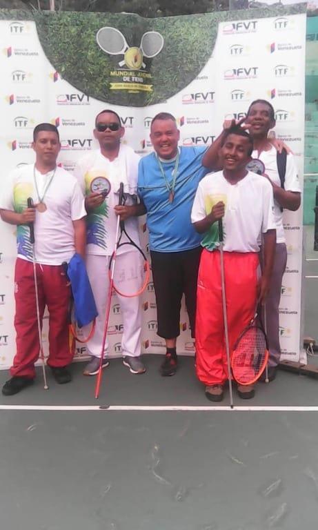 Delegación de Tenis Total del estado Bolívar en Nacional de Tenis Adaptado.